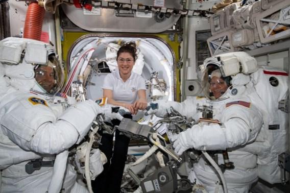 Nasa annuleert eerste volledig vrouwelijke ruimtewandeling