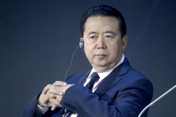 China zet voormalige Interpol-baas uit Communistische Partij