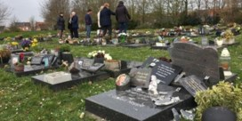 Vandalisme op kerkhof van Wevelgem is werk van 12-jarige