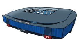 Gentenaars stemmen Ghelamco Arena naar Monopolybord