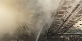 Brand in kantoorgebouw Bangladesh eist al minstens negentien levens