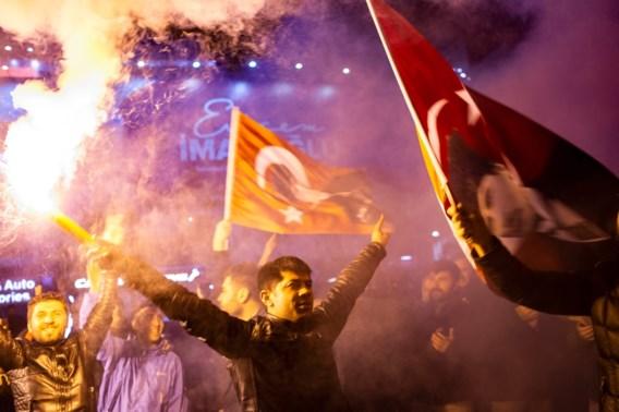 Partij Erdogan stevent af op verkiezingsnederlaag in Istanbul