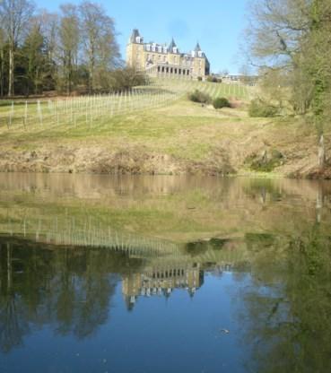 Het Chateau de la Poste.