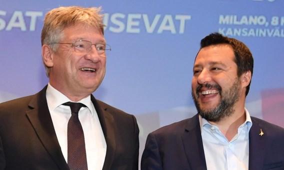 Lega en AfD starten nieuwe eurosceptische fractie, ook Vlaams Belang doet mee
