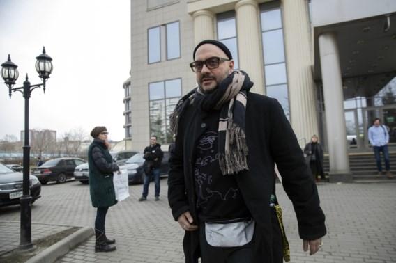 Huisarrest regisseur Serebrennikov onverwacht opgeheven
