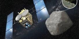 Japan bombardeert planetoïde