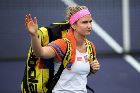Ysaline Bonaventure verliest ook in dubbel op WTA Bogota