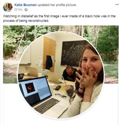 Hoe Katie Bouman 'haar' foto van het zwart gat produceerde