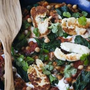 Gebakken of gegrild: drie gerechten met halloumi