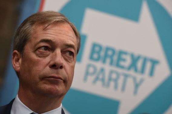 Farage stelt nieuwe partij 'Brexit Party' voor