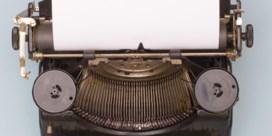 'Schrijver is en blijft een kwetsbaar beroep'