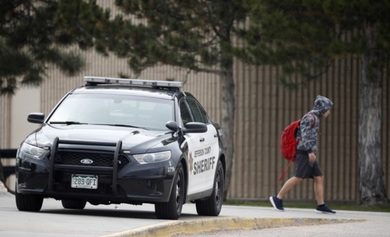 Door bloedbad Columbine geobsedeerde vrouw dood teruggevonden