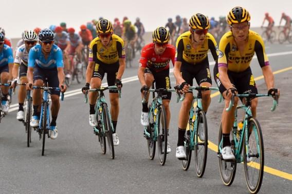 Jumbo-Visma trekt met Laurens De Plus en kopman Primoz Roglic naar de start van de Giro in Bologna