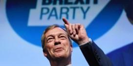 Brexit-partij op weg naar klinkende zege in Europa