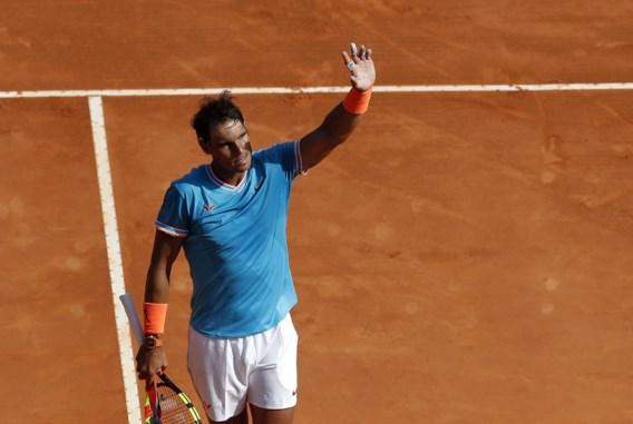 Titelverdediger Nadal naar kwartfinale in 'zijn' Monte Carlo