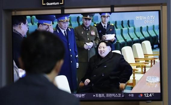 Kim Jong-un woont voor het eerst sinds mislukte top rakettest bij