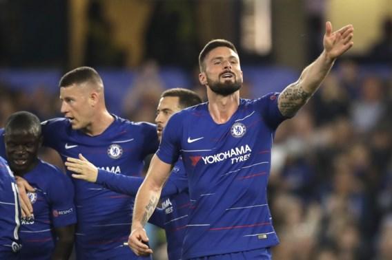 EUROPA LEAGUE. Chelsea-fans zien zeven goals, Mertens en Napoli uitgeschakeld, Frankfurt realiseert comeback