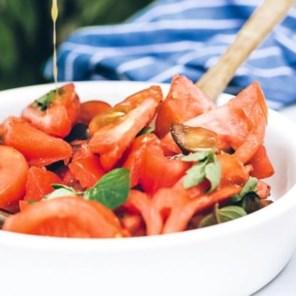 Koken met zoveel mogelijk verschillende soorten tomaten