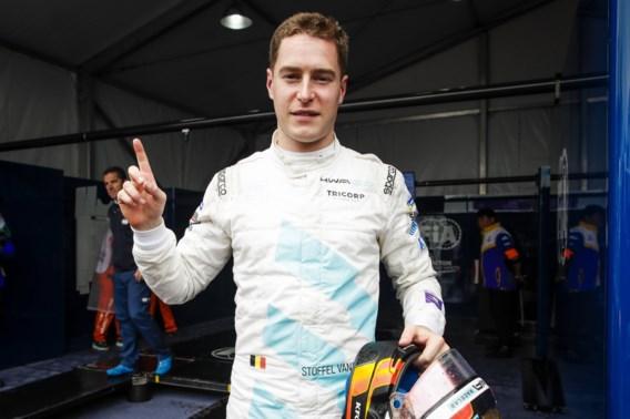 Stoffel Vandoorne rijdt voor de eerste keer in Le Mans