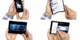 Samsung vouwt zich dubbel