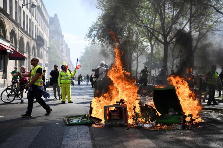 Rellen bij manifestaties gele hesjes, 28.000 man op straat