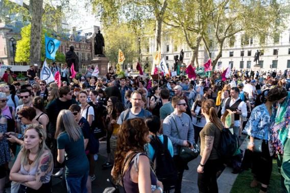 Klimaatactivisten bereid tot 'pauze' in Londen als Britse regering wil onderhandelen