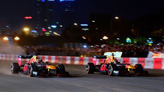 Vietnam bouwt stevig feestje na F1-demo