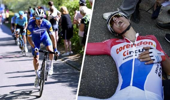 Julian Alaphilippe begrijpt niet hoe Mathieu van der Poel nog terug kon komen:
