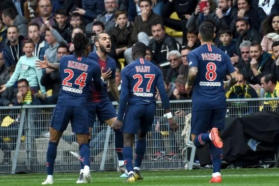 PSG voor de achtste keer op rij kampioen in Frankrijk zonder te spelen