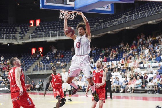 Antwerp Giants nemen revanche op Charleroi