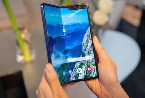 Samsung stelt lancering opvouwbare smartphone uit