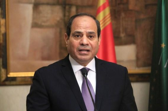 Bijna 90 procent voor grondwetswijziging die Egyptische president Sisi langer aanhoudt