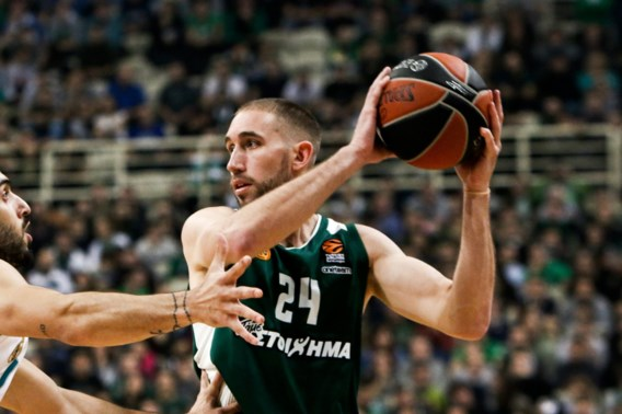 Lojeski en Panathinaikos uitgeschakeld door Real Madrid in kwartfinales Euroleague basket
