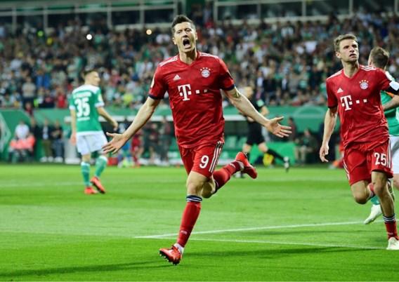 Bayern München plaatst zich alsnog voor Duitse bekerfinale na spectaculaire zege tegen Werder Bremen