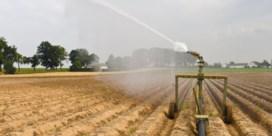 Landbouwers slaan al waterreserve op