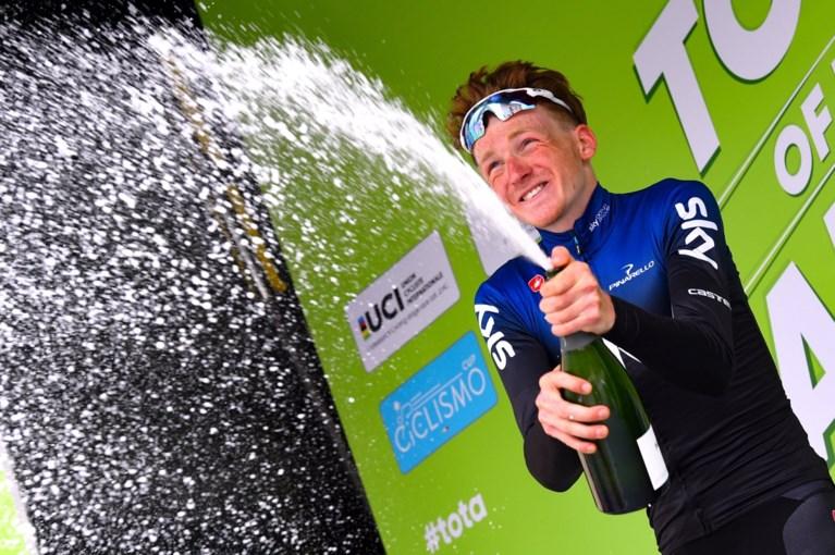 Jonge Brit Tao Hart boekt alweer een impressionante ritzege in de Ronde van Alpen