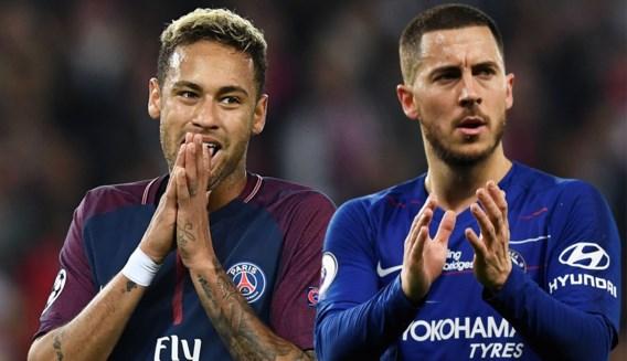 """Neymar gooit knipoog naar Eden Hazard en Real Madrid: """"Samen kunnen we vernielingen aanrichten"""""""