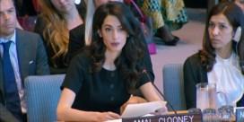 Amal Clooney geeft krachtige speech voor Verenigde Naties