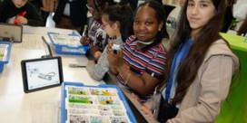 Leerlingen werken aan toekomst in Lego Studio