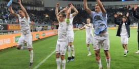 Genk domineert, Club Brugge ploetert