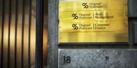 Bank Degroof drie keer in het defensief