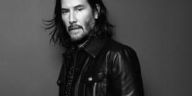 Keanu Reeves gaat zwart-wit voor Saint Laurent