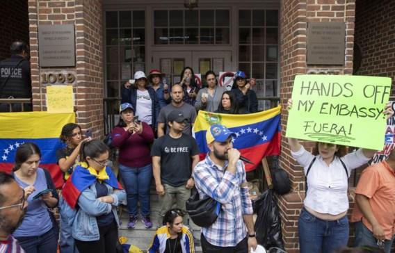 Venezuela vraagt aan VS om ambassade in Washington te beschermen