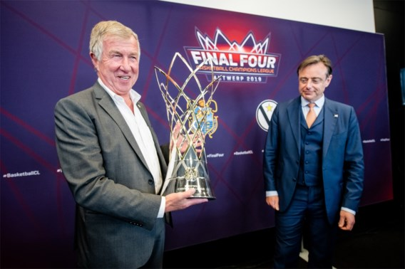 Red Foxes op Final Four Champions League in Sportpaleis