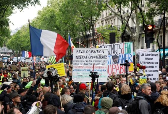 'Gilets jaunes' houden protest al 25 weken vol in Frankrijk