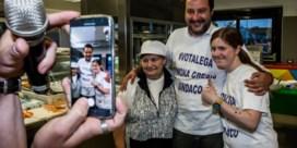 Matteo Salvini, leider van de eurokritische populisten: 'Ofwel verandert Europa, ofwel is het ten dode opgeschreven'