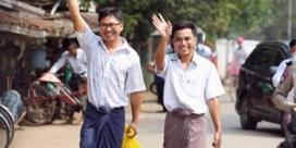 Myanmar laat twee opgepakte journalisten vrij
