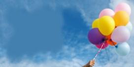 'Verbied het oplaten van ballonnen'