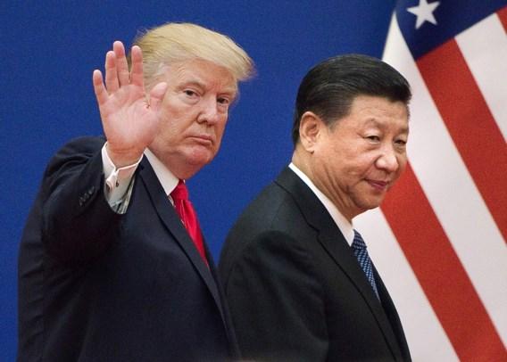 Trump zalft plots: 'Ik kreeg mooie brief van Xi'