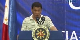 Kakkerlak saboteert speech van Duterte